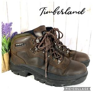 Timberland Brown Leather Hiking Trail Boot 3363 9M